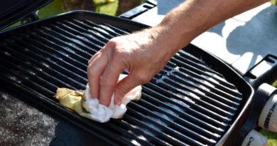 Como limpar a grelha do churrasco